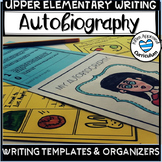 Autobiography Template Graphic Organizer and Rubric Activity