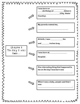 Autobiography Unit - Grades K-3