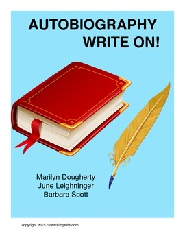 Autobiography - Write On!  Activities for Students Writing Autobiographies
