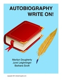 Autobiography - Write On!  Activities for Students Writing
