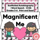 Autobiography Nonfiction Chapters CCSS 3-6 Print and Digit