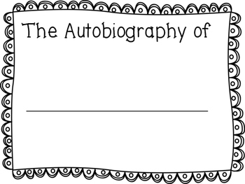 Autobiography Writing Packet