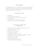Autobiography Writing Plan For Elementary Students
