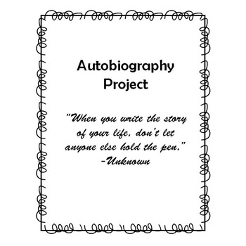 Autobiography Writing Project