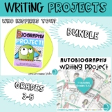 Autobiography and Biography Writing Projects BUNDLE
