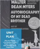 Autobiography of My Dead Brother 4 Week Unit Plan