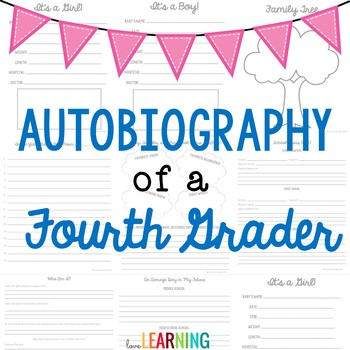 Autobiography of a Fourth Grader {A Memory Book Project}