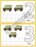 Autobus: chiffres de 0 à 10