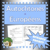 Autochtones / Europeens Projet (First Nations / Europeans Final Project) French