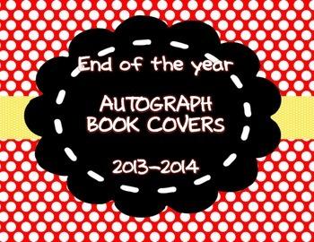 Autograph Book Cover Freebie