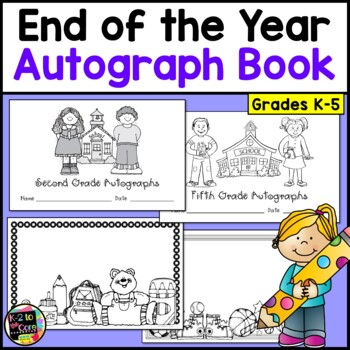 Autograph Book: End of the Year Fun Activity