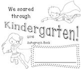 Autograph Book - Kinder Super Heros!