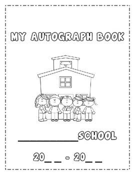 Autograph Book Template from ecdn.teacherspayteachers.com