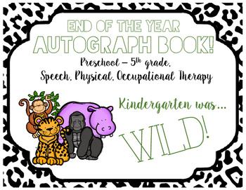 Autograph Book! (Wild Animals)