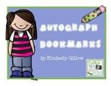 Autograph Bookmarks