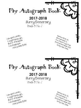 Autograph Books (as a Year-End Keepsake)