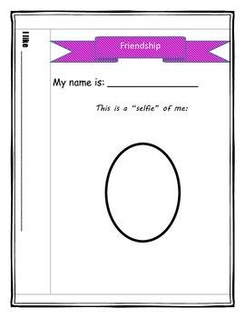 """Autograph Friendship Book + """"selfie"""" portraits"""