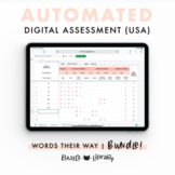 Automated Digital Assessment BUNDLE!  | Words Their Way (USA)