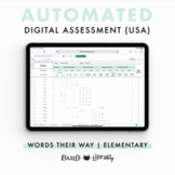 Automated Digital Assessment - Elementary Inventory  | Words Their Way (USA)