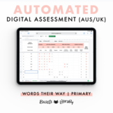 Automated Digital Assessment - Primary Inventory  | Words Their Way (AUS & UK)