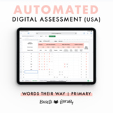 Automated Digital Assessment - Primary Inventory  | Words Their Way (USA)