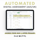 Automated Digital Assessment - Upper Level Inventory  | Words Their Way (AUS/UK)