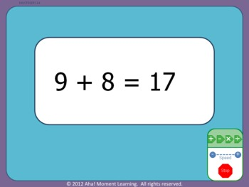 Automated Math Flash Cards -- Single-Digit Basic Operations *DEMO*