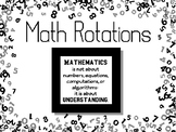 Automated Math Rotations PP