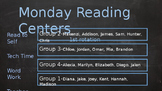 Automated Reading Group Rotations Powerpoint