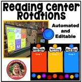 Automated Reading Rotation for 3 Guided Reading Groups Bright Smiles Design