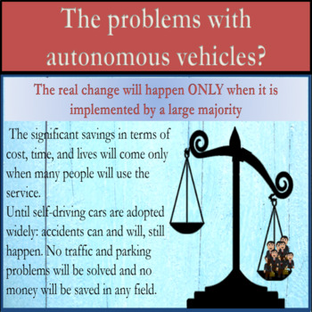 Automated cars – For and Against ESL adult debate lesson