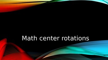 Automatic Center Rotation Timer