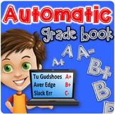 Automatic Grade Book   Excel Grade Book   Number Grades AN