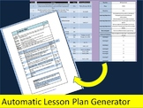 Automatic Lesson Plan Generator
