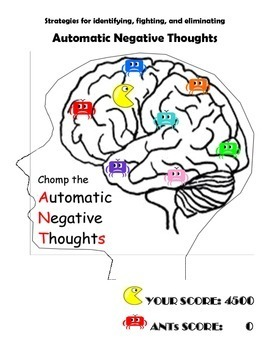 Automatic Negative Thoughts (ANTs) Workbook by The School ...