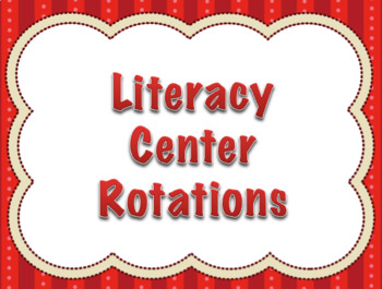 Automatic Small Group Center Rotation PowerPoint