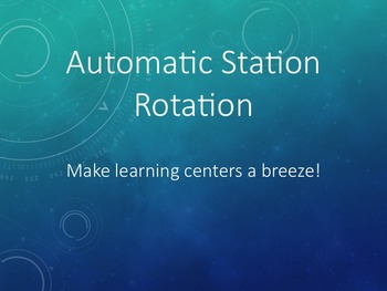 Automatic Station Rotation