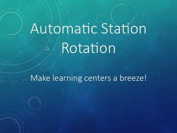 Automatic Station Rotation