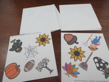 Automne: 3 Autumn/Fall Themed Vocabulary Games in French