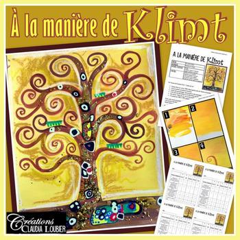 Automne: À la manière de Gustav Klimt. Activité d'arts plastiques
