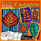 Automne: Arts plastiques, feuilles d'automne