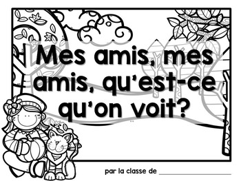Automne:  Autumn (Fall) Themed Emergent Reader in French