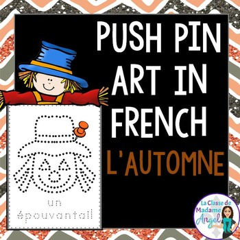 Automne:   Autumn (Fall) Themed Pinning Pages in French