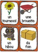 Automne - Cartes de vocabulaire - French Fall
