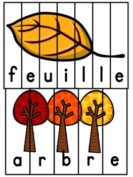 Automne - French Fall - Puzzles 2