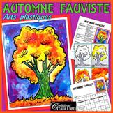 Automne: Arts plastiques: Automne fauviste, plan de cours en français