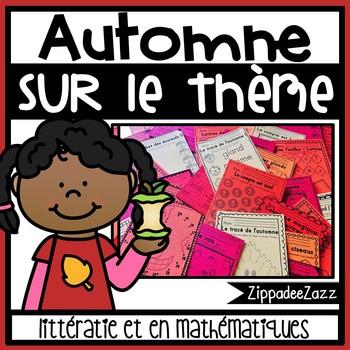 Automne sur le thème littératie et en mathématiques - Autu