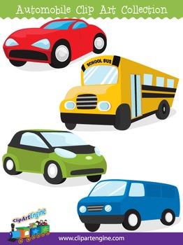 Automobile Clip Art Collection