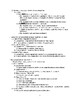 Autonomic Nervous System - Anatomy & Physiology Outline and Handout