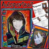 Arts plastiques: Autoportrait, plan de cours en français